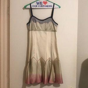 Max Azria Silk Slip Dress